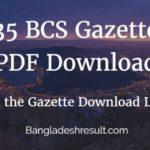 35 BCS Gazette